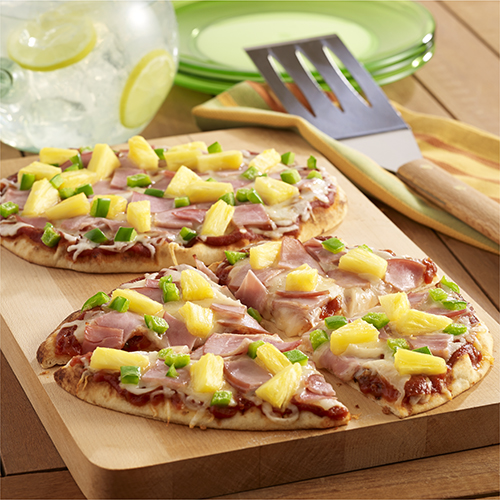 Hawaiian Pizza on the Grill