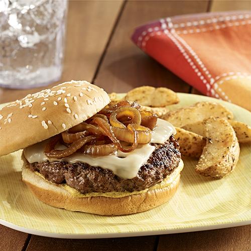 Beer Braised Onion Burgers Ready Set Eat
