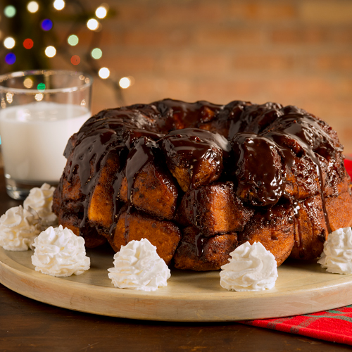 Hot Chocolate Monkey Bread