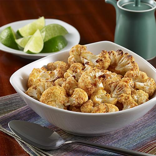 spicy roasted sriracha cauliflower  ready set eat