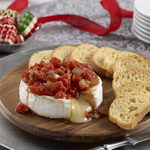 Savory Tomato Baked Brie Ready Set Eat