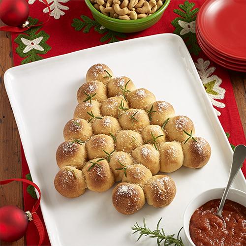 Christmas Tree Pull-Apart Pizza Bites | Ready Set Eat