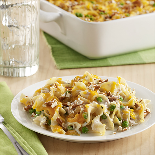 Meal Ideas With Chicken Noodle Soup: Simple Tuna Noodle Casserole