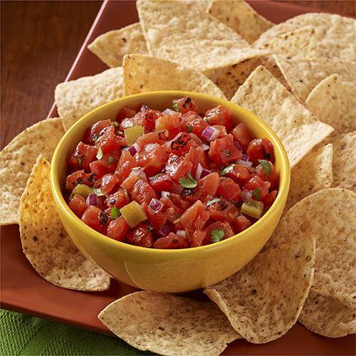 Zesty Fire-Roasted Tomato Salsa