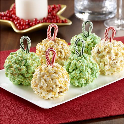 holiday kernel popcorn balls
