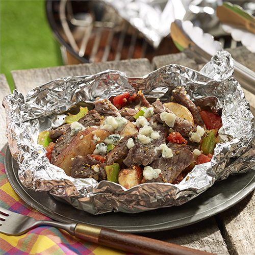 Sliced potatoes on the grill recipes in foil