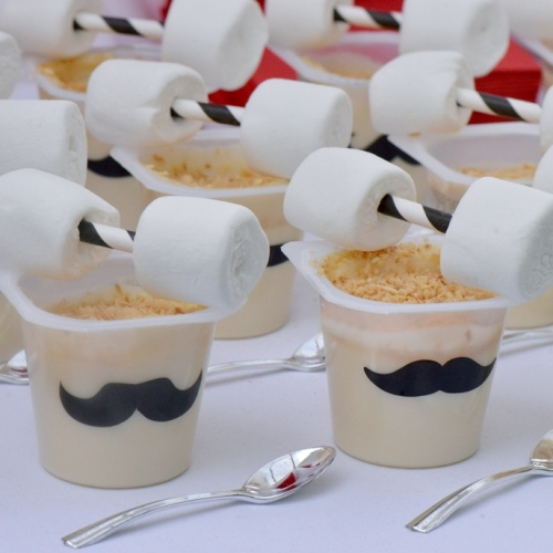 Strong Man Vanilla Pudding Cups