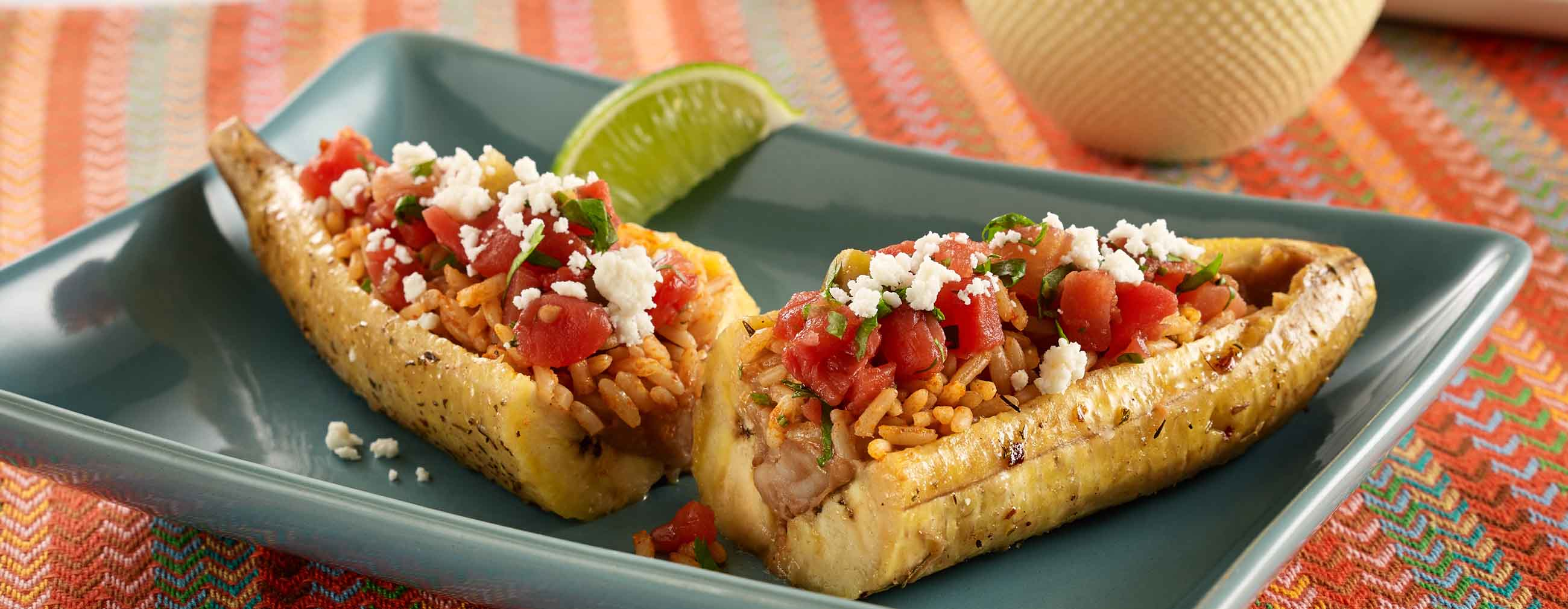 Cuban Plantain Boats