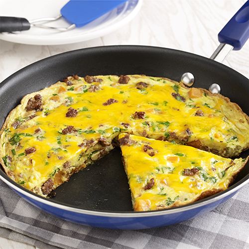 Sausage and Sweet Potato Frittata