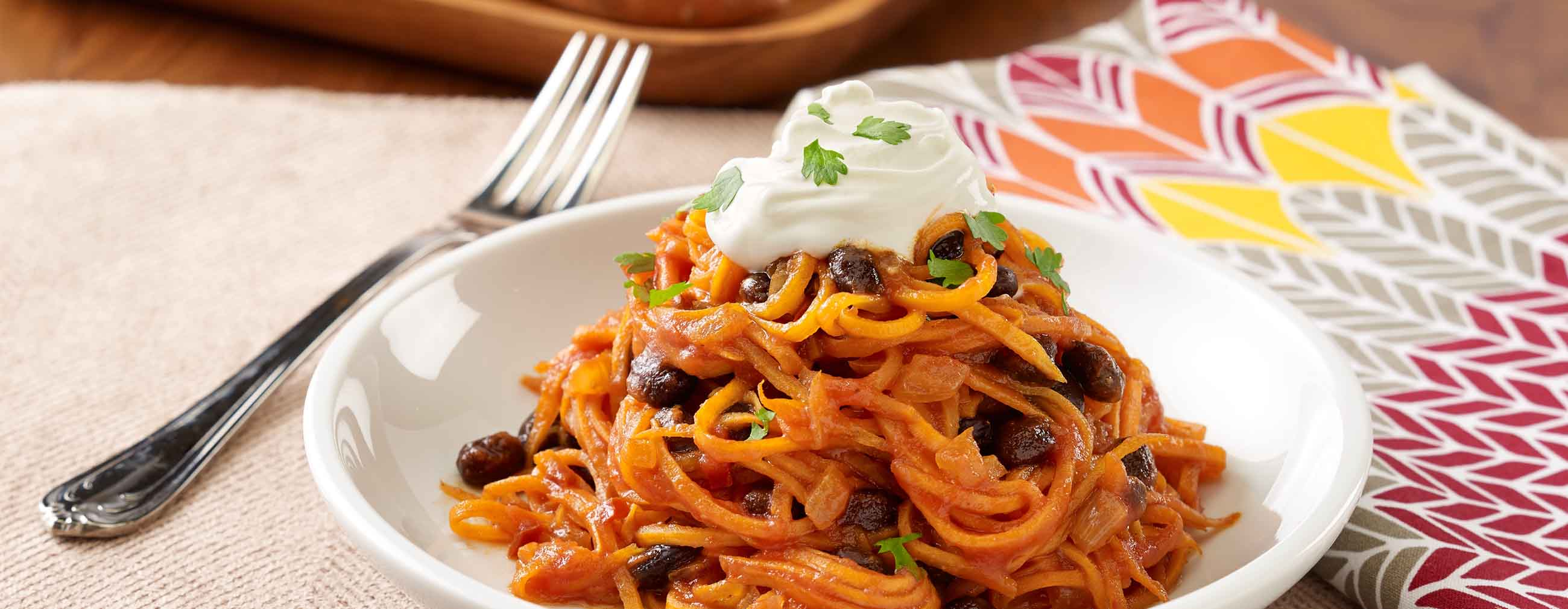 Chipotle Sweet Potato Noodles