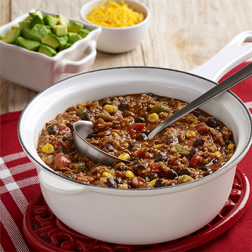 Ground Turkey Chili with Quinoa