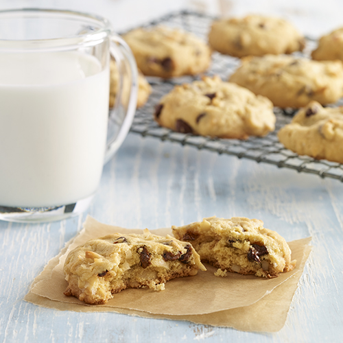 Gluten Free Almond, Coconut, Chocolate Chip Cookies