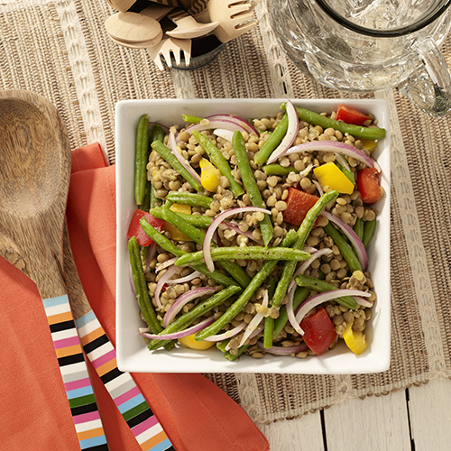 Green Bean and Lentil Salad