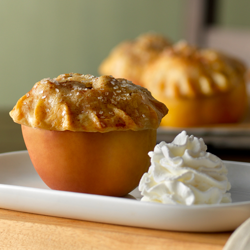 Apple Pie Baked Apples