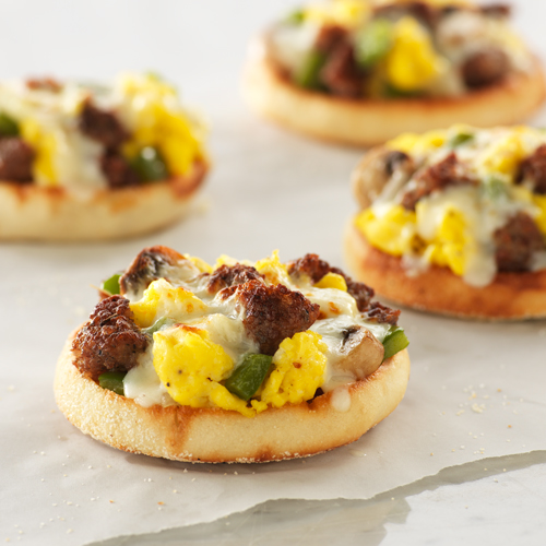 English Muffin Breakfast Pizzas Ready Set Eat