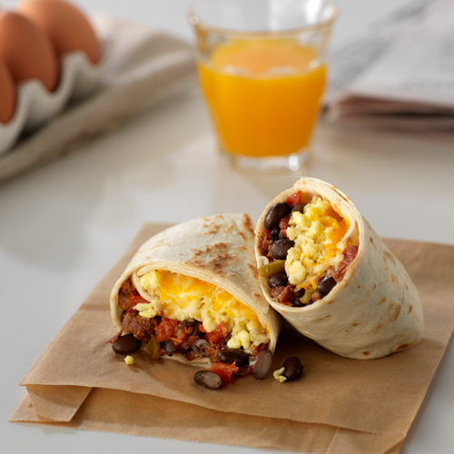 Mexican Breakfast Burritos