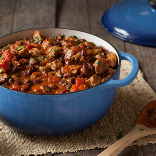 Sweet BBQ Pork Chili