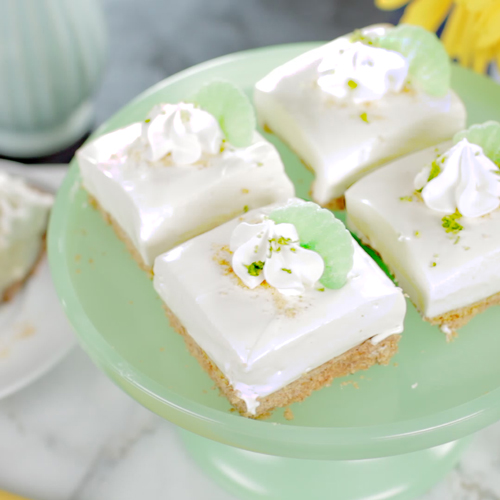 Key Lime Icebox Squares