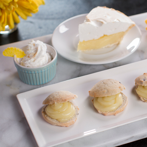 Lemon Meringue Scones