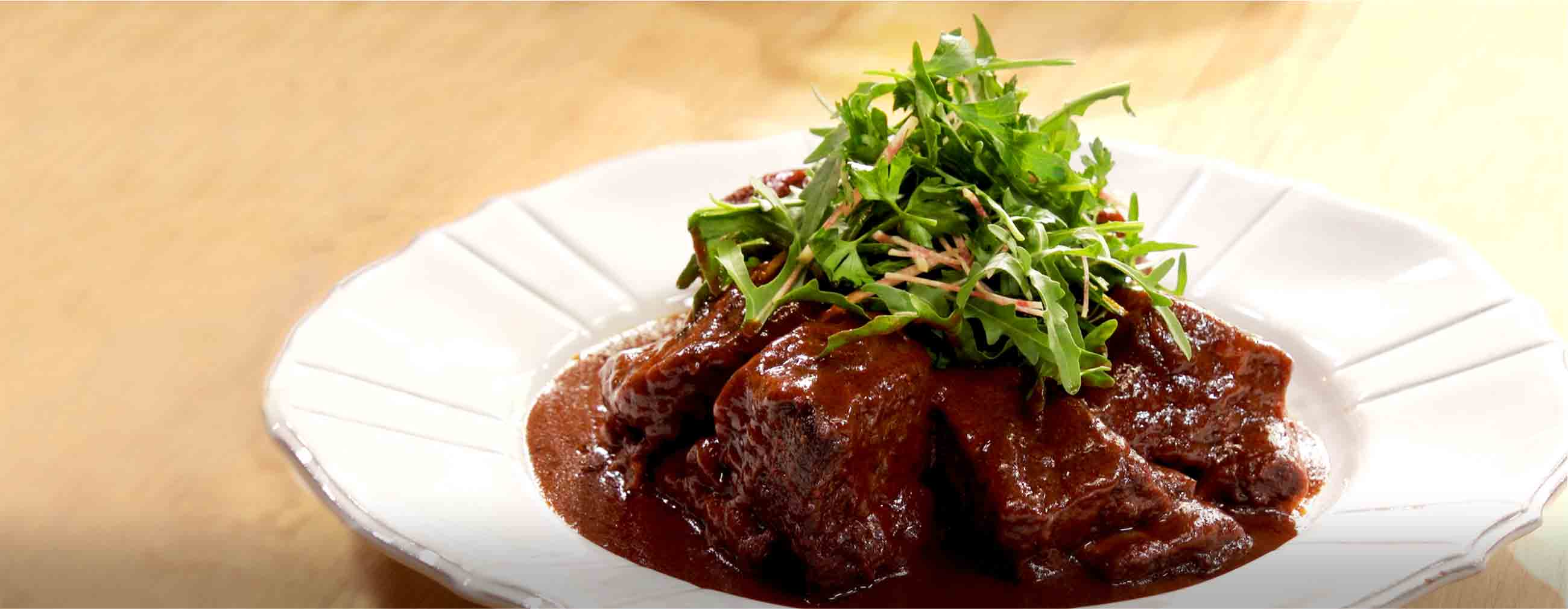 Braised Short Ribs with Ancho BBQ Sauce