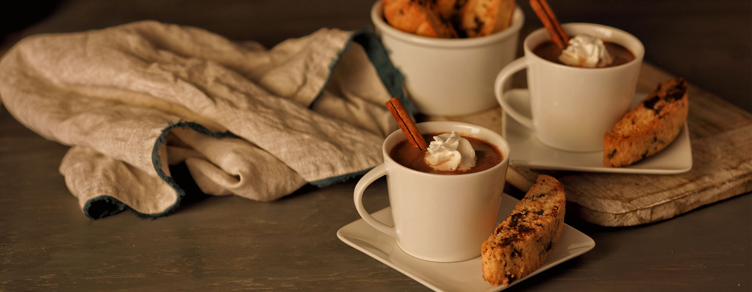 Double Chocolate Cinnamon Spiked Hot Cocoa