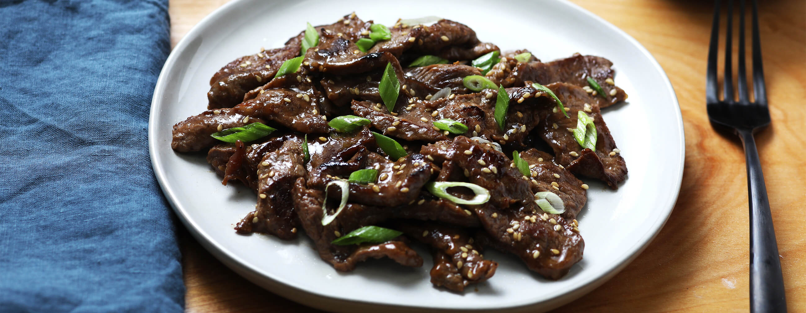 Korean Style BBQ Beef