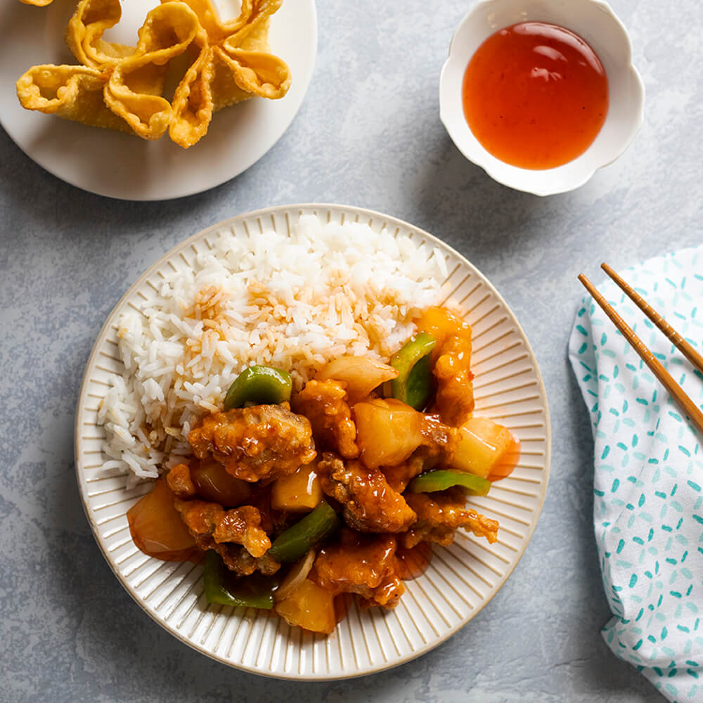 Crispy Sweet and Sour Chicken
