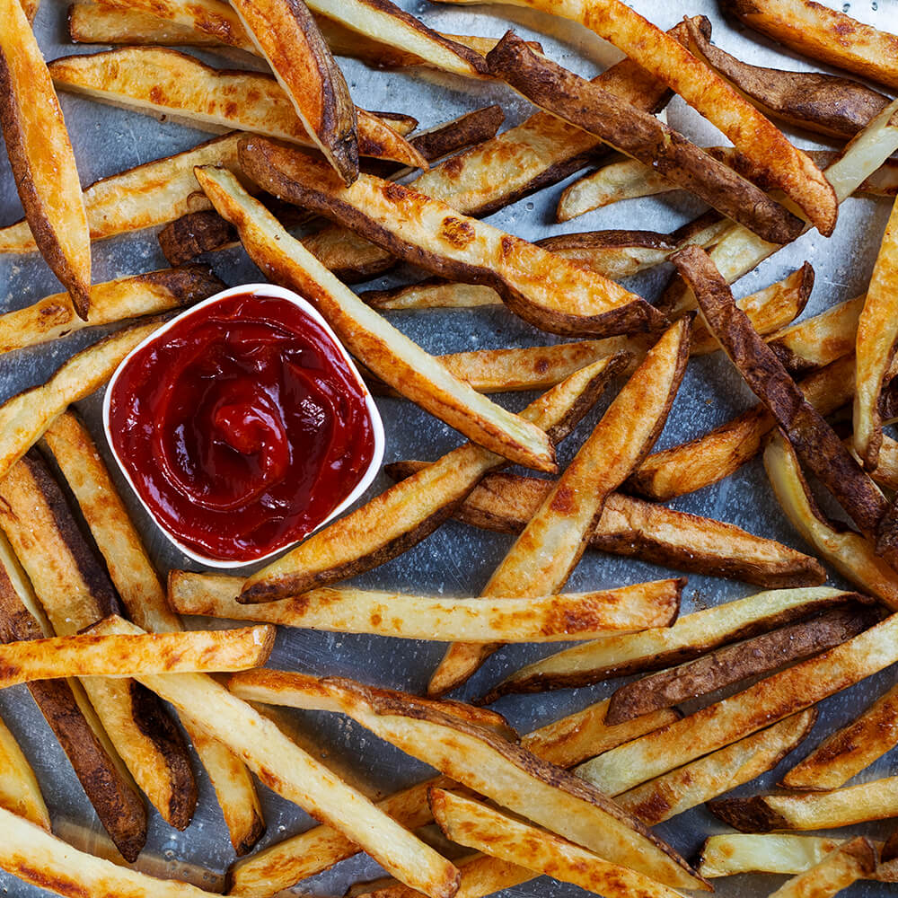 Best Ever Crispy Oven Fries