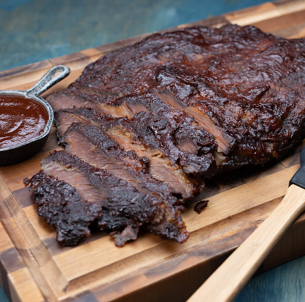 Oven Roasted BBQ Beef Brisket