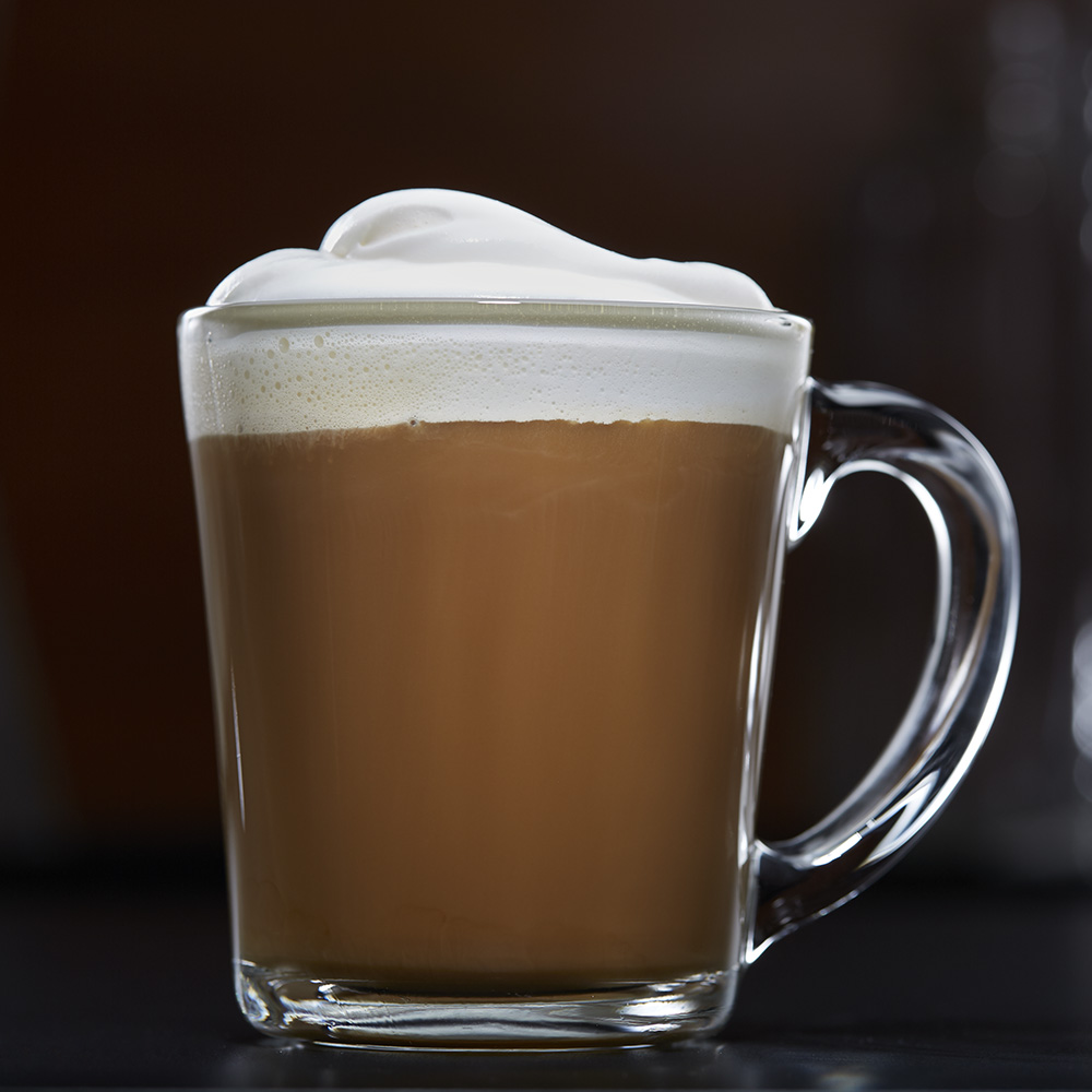 Barista Style Coffee with Sweet Foam