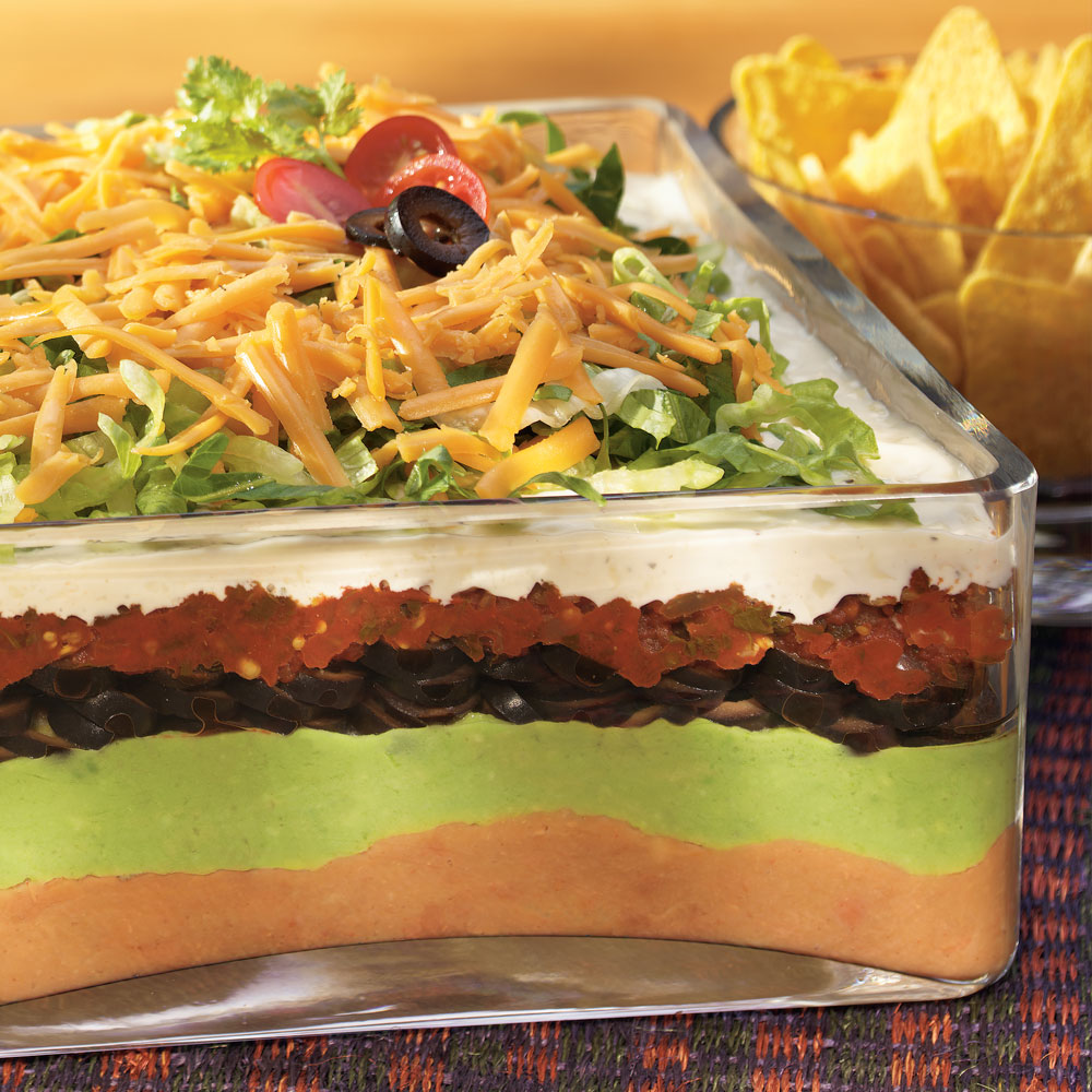 7-Layer Mexican Ranch Dip