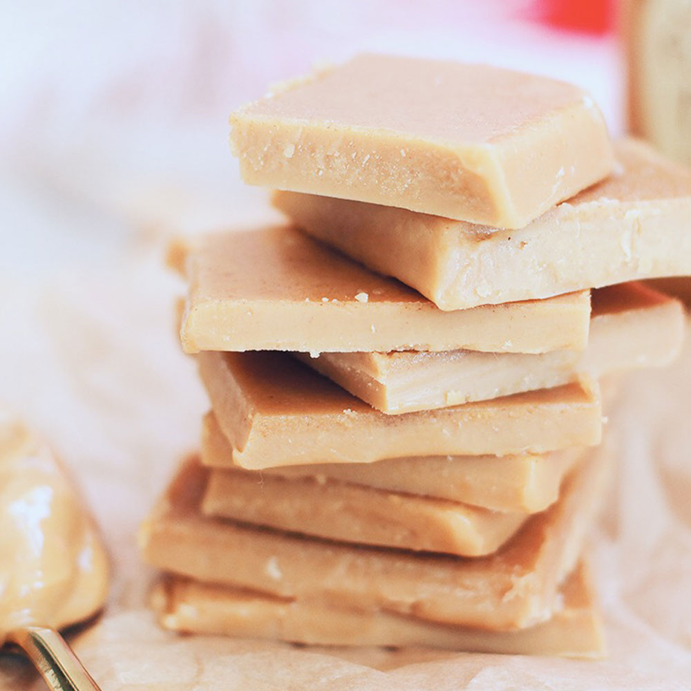 Plant-Made Peanut Butter Fudge