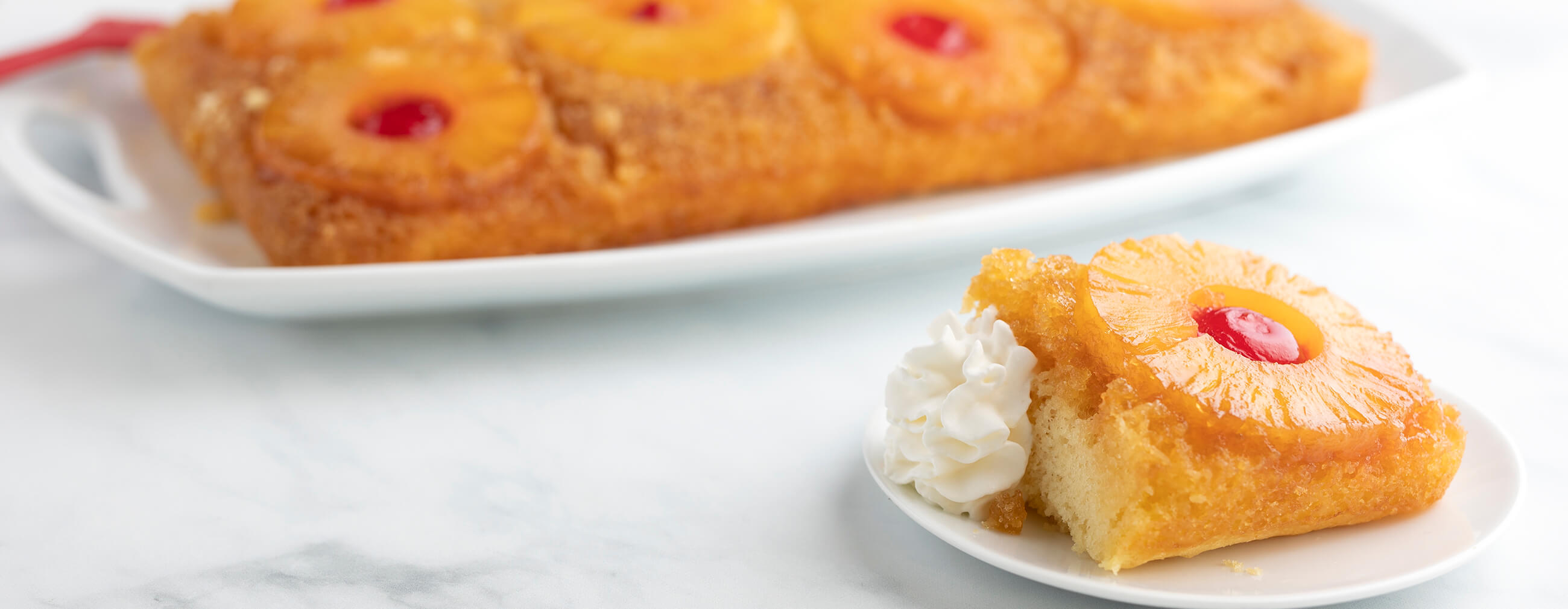 Double Pineapple Upside Down Cake
