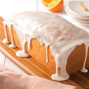 Orange Glazed Loaf Cake