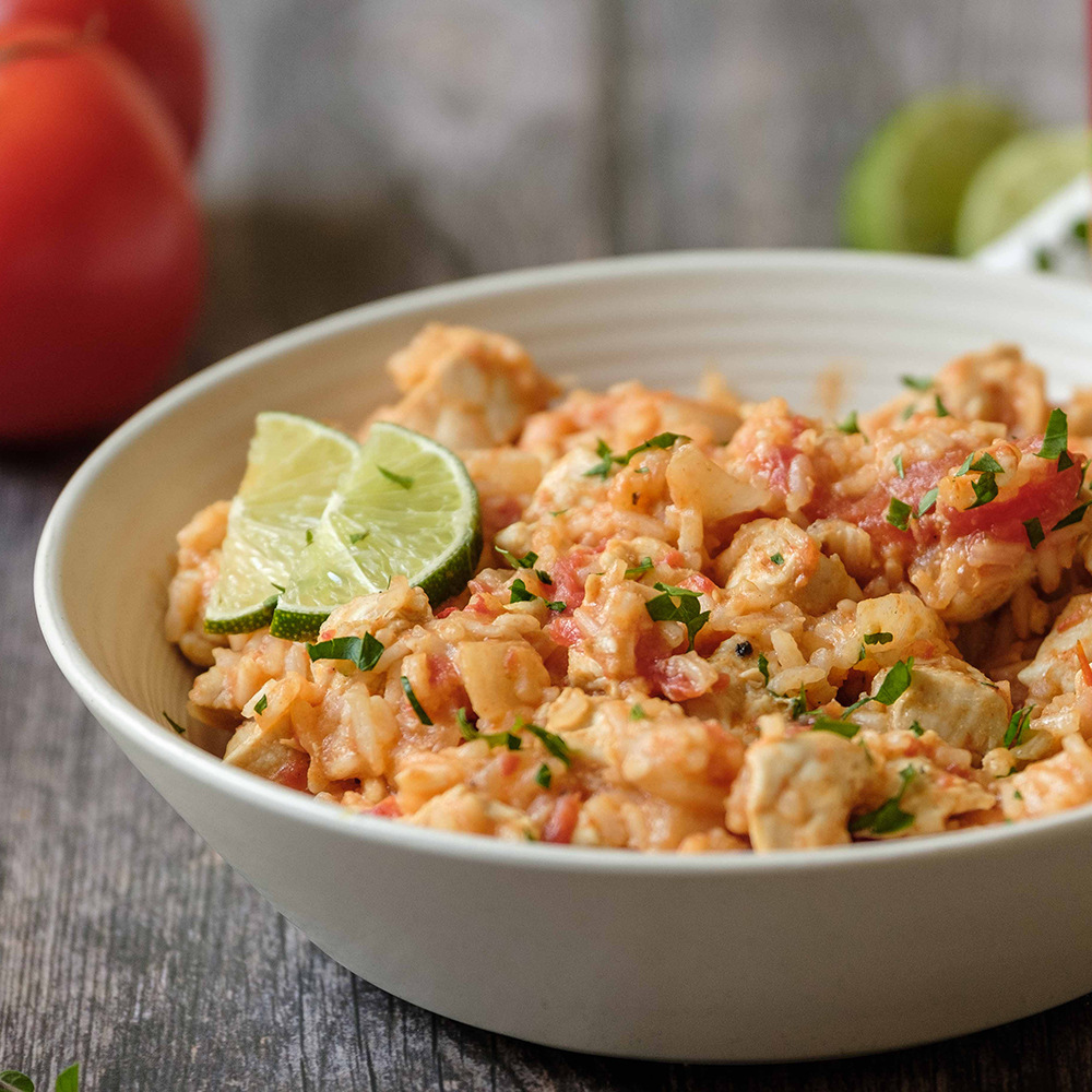 One-Pot Spanish Chicken with Rice