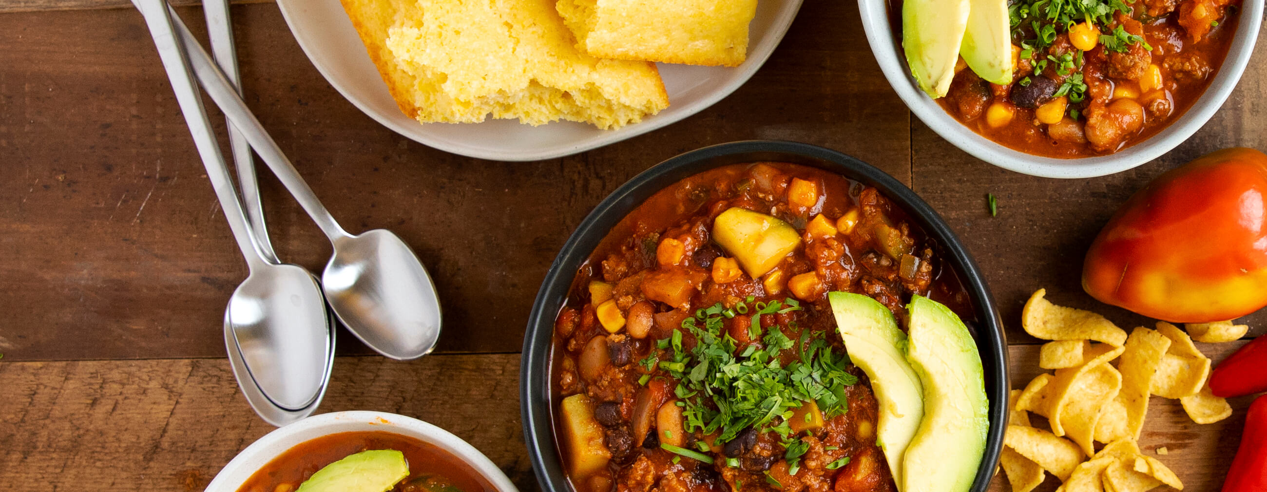 Slow Cooker Summer Vegetable Chili